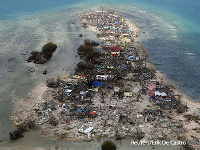 The Aftermath of Typhoon Haiyan
