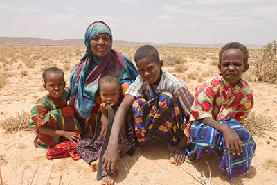 WomanandchildreninSomalia